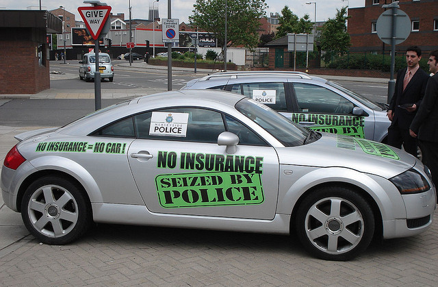 Uninsured car