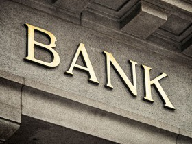 Bank sign