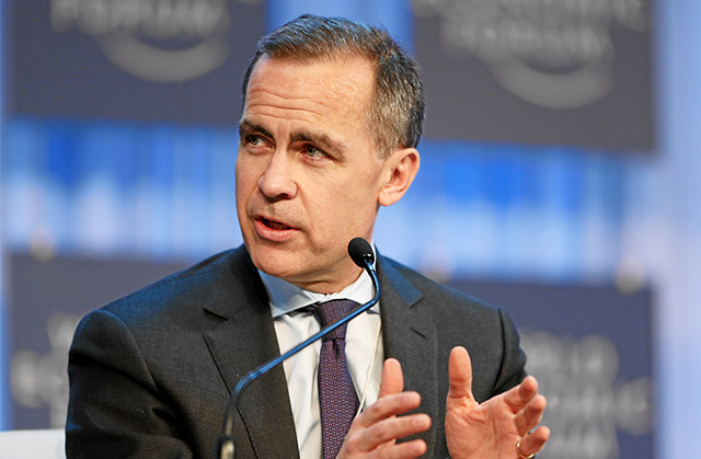 Mark Carney, governor of the Bank of England, said that support to household lending was no longer necessary