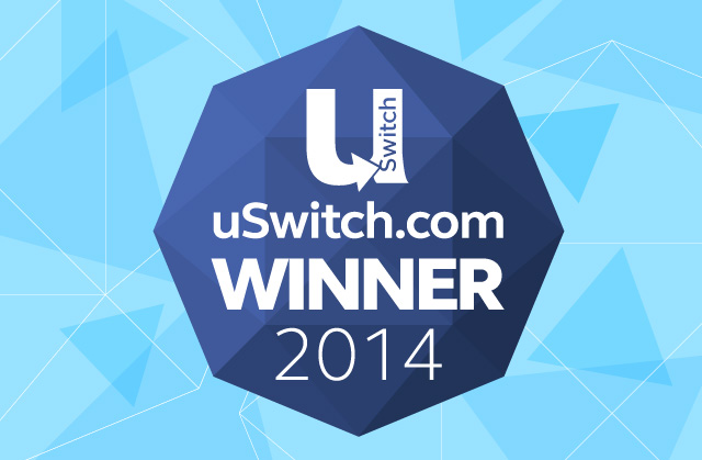 uSwitch Credit Card Awards 2014